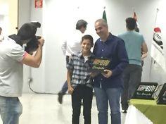 Melhor piloto de kart 2015 em duas categorias - Tribuna autódromo de Interlagos Mar/2016
