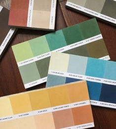 Cement Tile Palettes