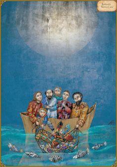 El milagro de los peces - La vida de Jesús