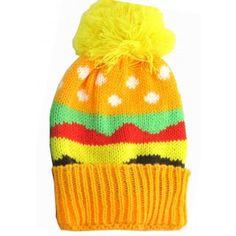 KIDS WINTER CAP HAMBURGER $7,99