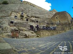 Sperlinga, the village with the houses obtained from rocks! #motorcycle #tour #italy
