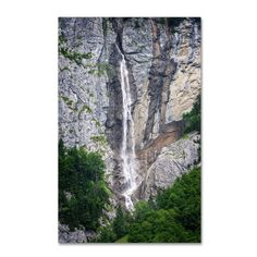 'The Power of Water' by Philippe Sainte-Laudy Photographic Print on Wrapped Canvas