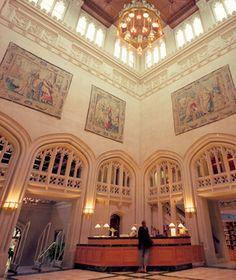 Vassar Represent!  America's Most Beautiful College Libraries: Frederick Ferris Thompson Memorial Library