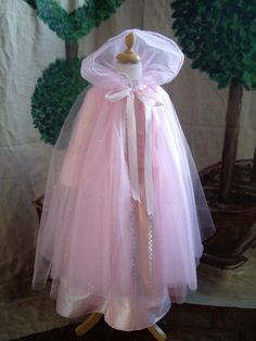 Cape de princesse rose tulle paillettes…