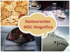 Restaurantes - Navio MSC Magnífica