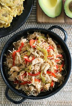 Chicken Ropa Vieja. A healthier version of the classic Spanish/Cuban dish. (Skinnytaste)