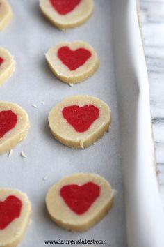 Slice n'Bake Valentine Heart Cookies
