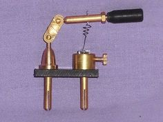 Crystal radio - galena # crystal detector #reproduction 1920s new #brass #exellen,  View more on the LINK: http://www.zeppy.io/product/gb/2/381678387749/