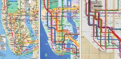 Hybrid NYC Subway Map