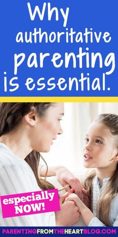 Find out why authoritative parenting is essential today, even though it wasn't in the past. Parenting from the Heart shares info from the experts about the pros and cons of this style of parenting. If you are trying to find out more about positive parenting, there is great information and tips for you to read and learn so you can add to your parenting toolbox! #parenting #parenthood #positiveparenting #motherhood #momlife #tips Parenting Advice, Kids And Parenting, Practical Parenting, Neglectful Parenting, Sibling Fighting, Positive Discipline, Attachment Parenting, Positive Reinforcement, Parent Resources
