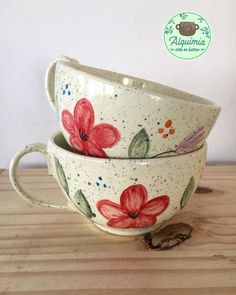 Discover recipes, home ideas, style inspiration and other ideas to try. Ceramic Birds, Ceramic Cups, Ceramic Art, Norman Foster, Crackpot Café, Cappuccino Tassen, Sharpie Paint Pens, Golden Milk, My Cup Of Tea