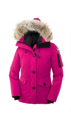 Canada Goose Montebello Parka Summit Pink Women