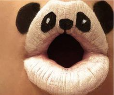 Check out this crazy lipstick art of animals, fruits, stripes and more.