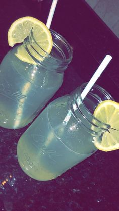 homemade lemonade on a beautiful sunny day☀️