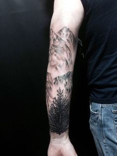 Deep and Super Cool Forest Tattoo Ideas (24)