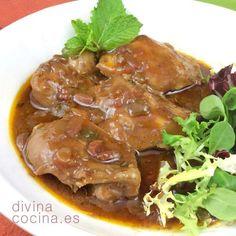 Este pollo a la cerveza negra es un plato fácilísimo de preparar, con ingredeintes sencillos y con un toque agridulce en la salsa.