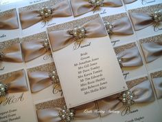 Table Plan Card. Seating Plan Tag. Wedding by QuillsWeddingFavours