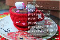 Amigurumi Food: Free pattern Chocolate
