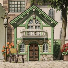 Aesthetic Art, Aesthetic Pictures, Aesthetic Anime, Studio Ghibli Art, Studio Ghibli Movies, The Cat Returns, Japon Illustration, Hayao Miyazaki, Anime Scenery