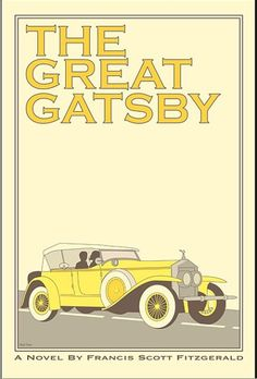 The Great Gatsby by F. Scott Fitzgerald, reimagined by artist Claudia Varosio / via @Flavorpill / Flavorwire