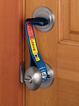 Super Grip Lock prevents bump keys, passcards, or other unlocking devices from working. It's one of the surest ways to keep someone from invading your home or gaining illegal entry into your hotel room.