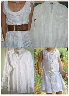 upcycle men's shirt