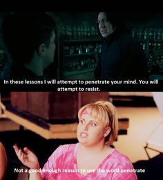 Harry potter and pitch perfect haha Pitch Perfect, Perfect Movie, Look Here, Look At You, Just For You, Ron Y Hermione, Fat Amy, Haha, Nostalgia