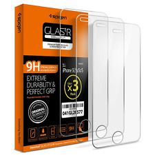 Spigen Glas tR Slim iPhone SE Screen Protector with Tempered Glass 3 Pack for iP