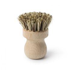 Pot scrubbing Brush #wooden #wooden-brush
