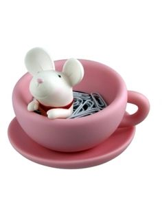 $18.19 TEATIME PAPER CLIP MOUSE CUP