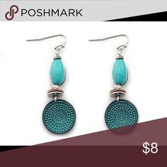 NWT Western Style beautiful Turquoise earrings NWT Western Style beautiful Turquoise earrings . western express Jewelry Earrings
