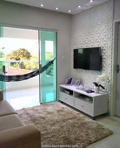 best inspiration small apartment living room decor 2019 page 4 House Design, Small Space Interior Design, New Home Designs, Home, Small Apartments, Living Room Decor Apartment, New Homes, Small Apartment Living Room, Home Decor Furniture
