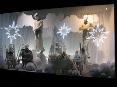 Christmas window display, Selfridges, London