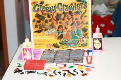 Creepy Crawlers-My brother had this. Great times. I can still remember the smell of that cooking rubber!