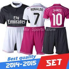 Cheap Sports Jerseys, Buy Directly from China Suppliers:      Free Shipping 2015 RONALDO Real Madrid Jerseys JAMES Chandal Real Madrid Soccer Jerseys Camiseta de futbol Footbal