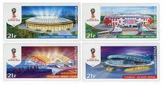 COLLECTORZPEDIA 2018 FIFA World Cup Russia - Stadiums