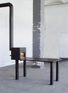 STOVE TABLE by Reinier Bosch