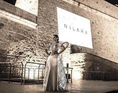 NILARA 'Firefly' light-up dress #Nilara #mfwa #mfwa2016 - photo Matthew B Spiteri