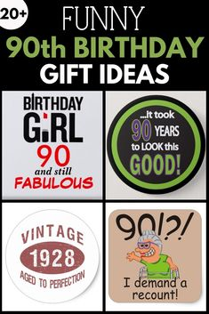 114 Best 90th Birthday Gifts Images In 2019