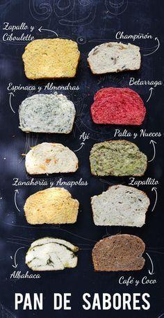 recetas-pan-casero-remolacha-calabaza y cebollino Pan Bread, Bread Baking, Vegan Recipes, Cooking Recipes, Salty Foods, Pan Dulce, Le Diner, Artisan Bread, Gastronomia