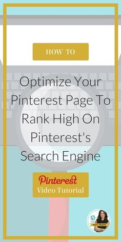Getting your business found on Pinterest is not as easy as you may think. Pinterest Expert Anna Bennett reveals what businesses need to do to rank high on Pinterest's search engine. You don't want to miss step crucial step! Watch the video tutorial at www.whiteglovesoc...