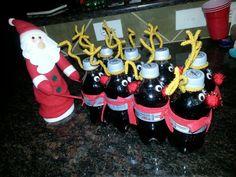 holiday, 600450 pixel, santa gift, craft, secret santa ideas, 1200900 pixel, diet coke gift, diets, christma idea
