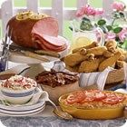 Easter Buffet Article - Allrecipes.com Gameplan Early in the morning, or the night before, bake and ice carrot cake; toast walnuts. Two hours before the meal, make angel biscuits and let rise. Cook ham, glazing periodically as instructed. Boil sweet potatoes. Remove ham from oven; bake sweet potato casserole. Steam green beans and toss with seasonings. Bake biscuits. Tips Set the table with pastel- or cream-colored linens. Clean and ready serving dishes. Find a nice basket (or brightly…