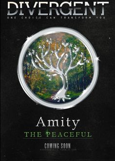 Divergent Challenge, Day One: Your Fraction...I'd probably be Amity, to be honest. If anything I'd be Divergent, but if I had to choose over the original 5 it would be Amity.   (I might do more then one of these a day!)
