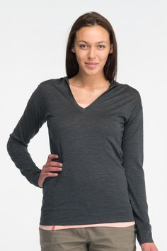 Icebreaker - Vista Long Sleeve Hood