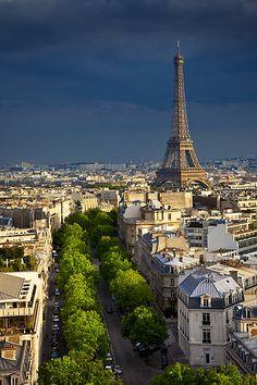 Amazing view of Paris.