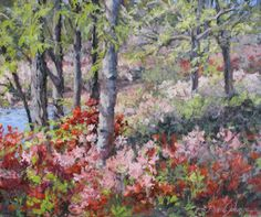 "Love ""L. Diane Johnson's"" paintings!  This one is ""Stars of Springs."""