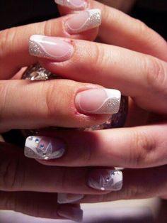 White && glitter♥