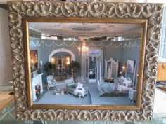 """Gallery of Miniature Roomboxes ( 1"""" scale) Jo is available to create the special room box of your dreams. Call her at (256) 722-4786 or email her at jo@spencersnook.com."""
