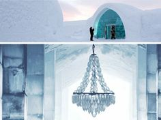European Chic: More ice hotels (i.e. places to see before they melt)
